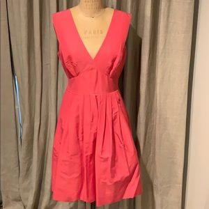 J.crew pink dress size 6